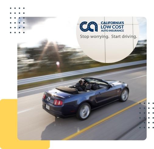 California Low Cost Auto Insurance Quote